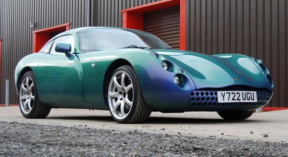 The TVR Tuscon was big, bold and brash