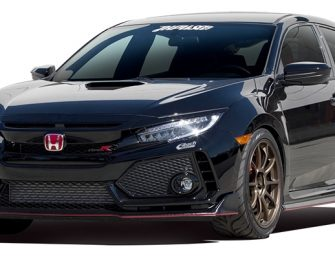 Vtec kicks in! The all new Type R gets the Eibach treatment.