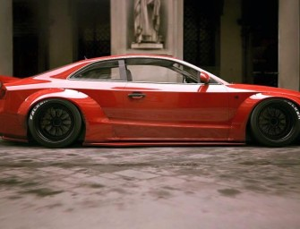 Liberty Walk gives the Audi S5 a new lease of life