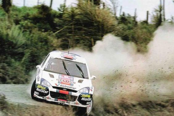 McRae used the Focus WRC to scoop the final victories of his WRC career