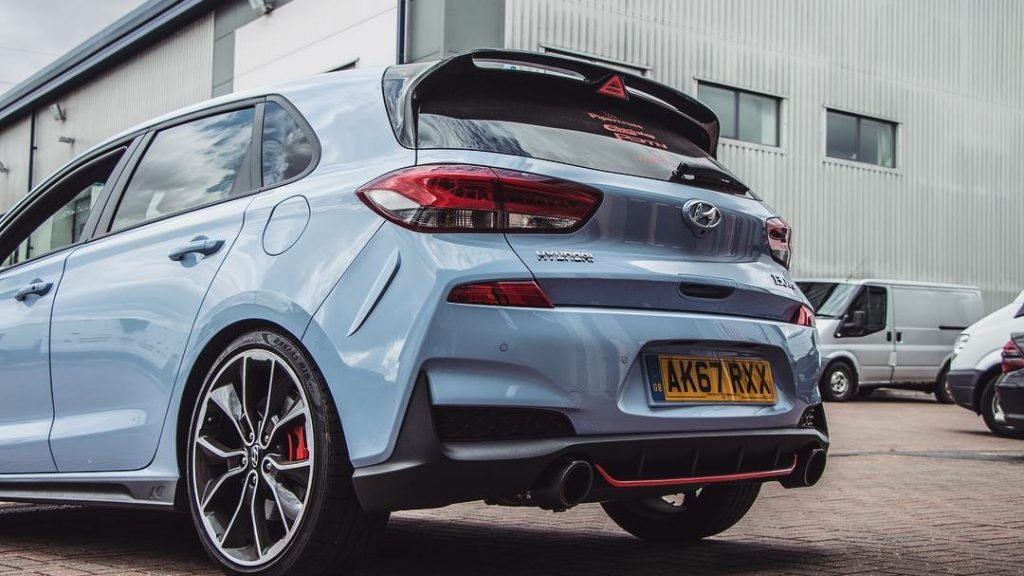 Hyundai i30N rear profile