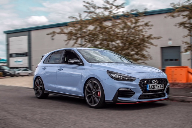 Hyundai i30N in action
